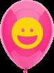 <p>O bico do balão fica para baixo e pode ser inflado a ar ou a gás hélio, e pode ser usado também com os pega balões</p>