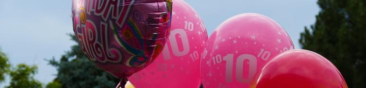 Como são feitos balões personalizados?
