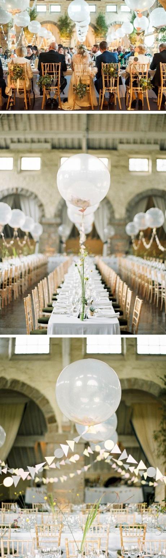 Decoração com balões para casamento