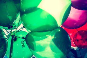Balões personalizados para eventos