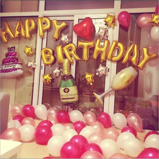 Bexigas para aniversário
